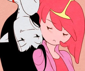 adventure time, marceline, and princess bubblegum image