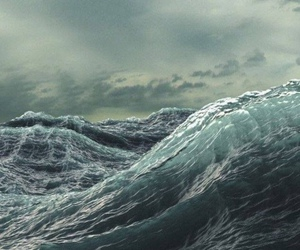 ocean, waves, and sea image