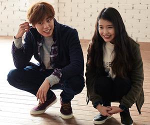 iu, actor, and lee hyun woo image