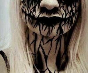 Halloween, creepy, and makeup image