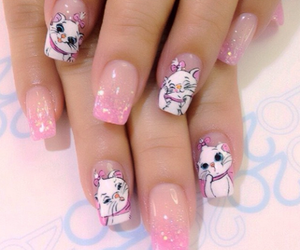 nails, cute, and disney image