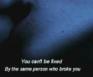 quotes, broken, and grunge image
