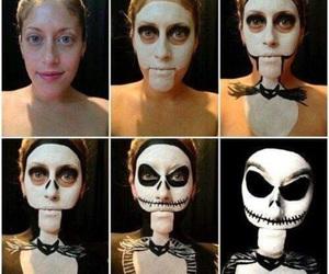 Halloween, makeup, and jack image