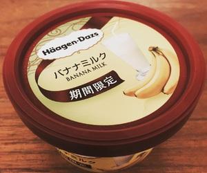häagen-dazs, 期間限定, and バナナミルク image