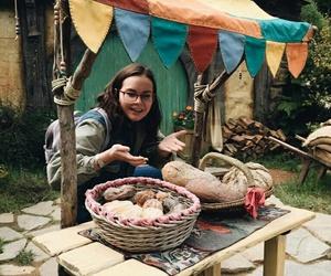 girl, glasses, and hobbit image