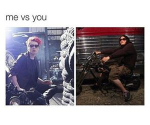 funny, gerard way, and jokes image