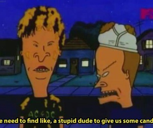Beavis and Butt-Head, cartoon, and Halloween image