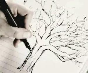 teen wolf, tree, and lydia martin image