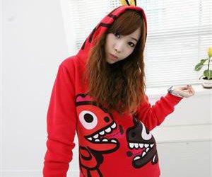 dinosaur, sweater, and fashion image