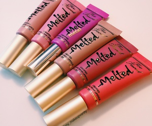 lipstick, makeup, and melted image
