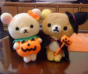 Halloween, pumpkin, and rilakkuma image