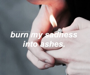 aesthetic, flame, and grunge image