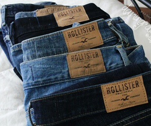 hollister, jeans, and fashion image