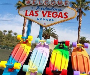 places, travel, and vegas image