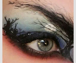 Halloween, eye, and makeup image