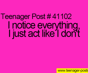 notice, quote, and teenager image