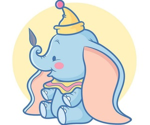 dumbo, disney, and cute image