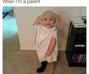 funny, dobby, and harry potter image