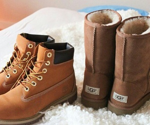 shoes, timberland, and ugg image