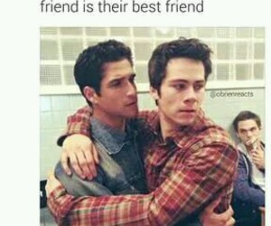 teen wolf, funny, and best friends image