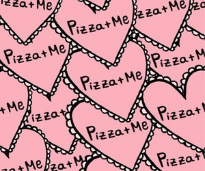 pizza, background, and me image