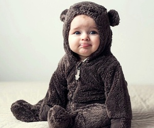 baby, bear, and sweet image