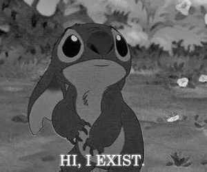 stitch, exist, and sad image
