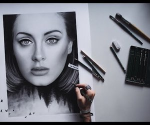 Adele, art, and n image
