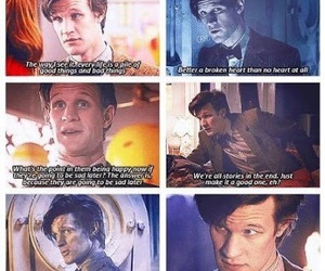 doctor who, matt smith, and quotes image
