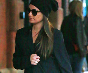 lea michele and new york city image