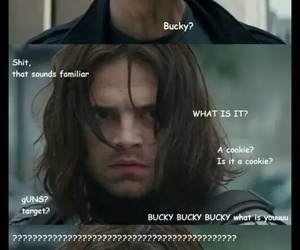 steve rogers, winter soldier, and captain america image