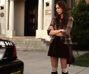 pll, spencer hastings, and pll style image