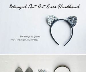diy, cat, and ears image