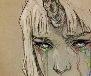 unicorn, Chiara Bautista, and art image