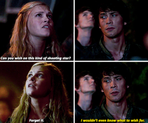 the 100, bob morley, and clarke griffin image