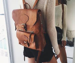 bag, boho, and brown image