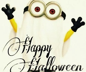 minions, Halloween, and happy image