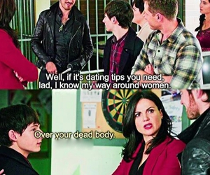 funny, regina, and henry mills image
