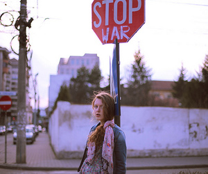 girl, photography, and stop image