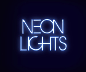 neon lights image
