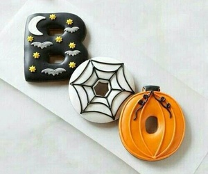 boo, Halloween, and boo donuts image