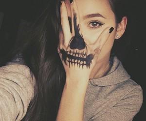 Halloween, skeleton, and skull image