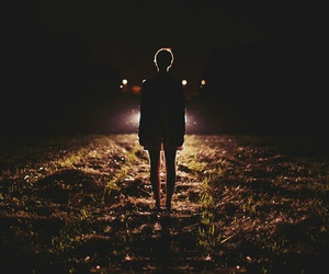 car, light, and night image
