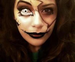 halloween costume and makeup image