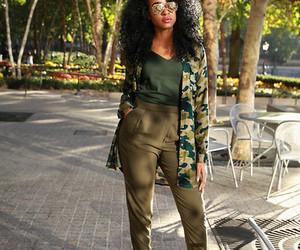 african american, elegant, and black girls image
