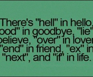friend, hello, and lie image