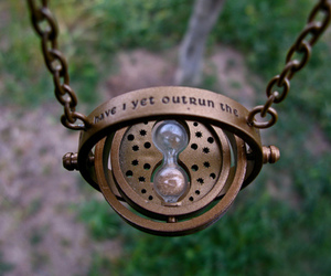 harry potter, hourglass, and time image