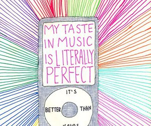 music, perfect, and taste image