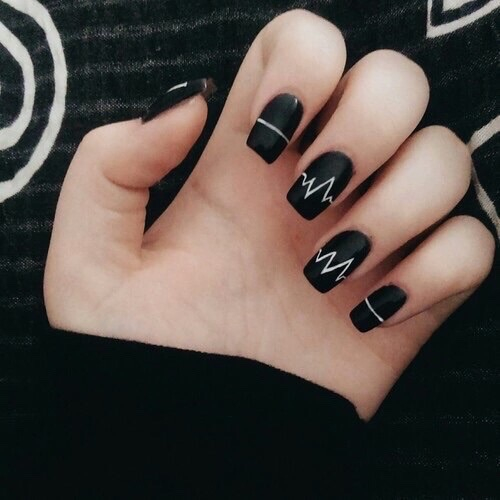 Image About Black In Nails By Alexis Mcmillan