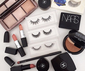 makeup, nars, and chanel image